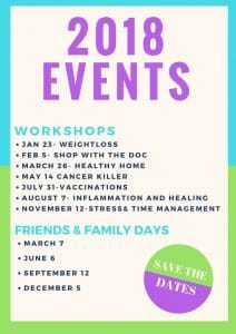 Chiropractic Orlando FL Upcoming Events